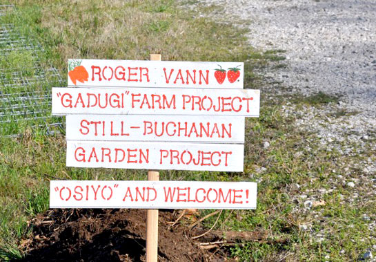 Roger Vann Gadugi Farm Projects